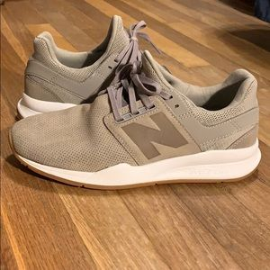New Balance 247 suede tennis shoes